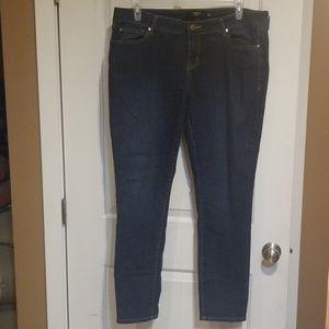 Torrid sz 18 regular length dark wash skinny jeans